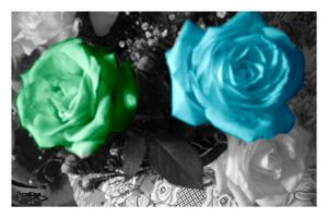 Blue and Green by LeBy