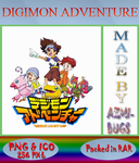 Digimon Adventure - Anime icon by azmi-bugs