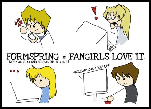 Comic: Formspring Fangirls by Kitty17794