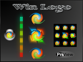New Win Logo Start orbs. by Fiazi
