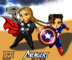 The Avengers?! by Markisy