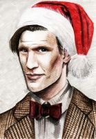 Merry Doctor Who by MokkunChan
