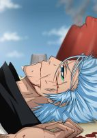 Grimmjow's died by Ainozomi