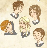 OMFG - is stoned - HP fanart by Dagger-teh
