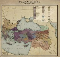Roman Empire - Ethnic division by MarcosCeia