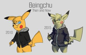 Beingchu- Then and Now by the-b3ing