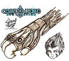 Code Lyoko Evolution: Odd Concept Art by FireLordWael