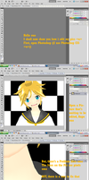 MMD - How i Edit my Pics -u- by YellowDesuCake