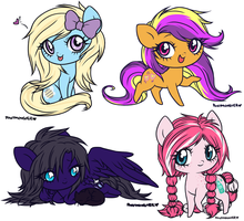 a smaller group of other stuff by ponymonster