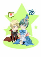 Alois and Ciel GIF by Fuugen