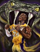 The Black Mamba. by rbrunoillustration