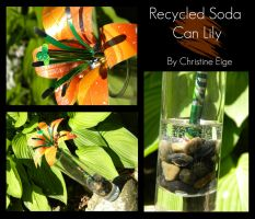 Soda Can Lily - Collective by Christine-Eige