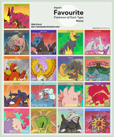 favorite pokemon type meme by nastyjungle