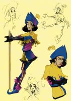 Clopin x 5 by J-Zet
