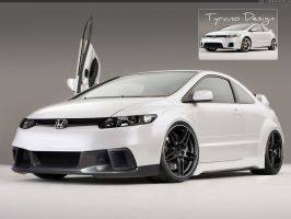 Honda civic SI Sport by Tyranoo