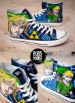 Link from Zelda Shoes by Bobsmade