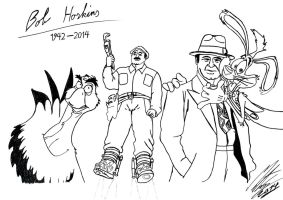My tribute to Bob Hoskins by MortenEng21