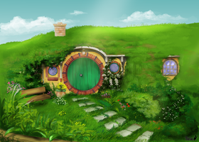Hobbit Hole by Maybellez
