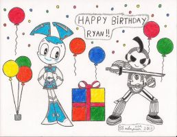 Happy Birthday Ryan!! by 88MilesPrower