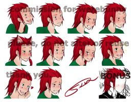 Axel expressions (and a bonus) by Jundou