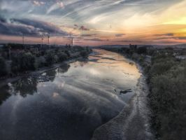 Evening river by BBS-Boom