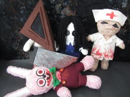 Silent hill dolls are back by Rei2jewels