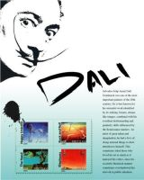 Dali Stamp by enjoincubus