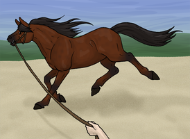 Lunging Derringer by BlueLadyAces