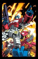 Transformers Colouring by RecklessHero