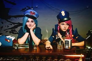 02 Officer Vi and Jinx - Waiting sucks by AHu-PL