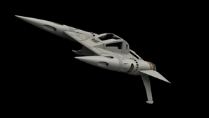 Buck Rogers Starfighter 03 by peterhirschberg