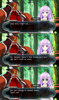 Hyperdimension Neptunia X Blazblue Comic Part 11 by pratama221