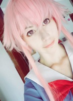 Yuno Gasai Potrait by CatCaptain