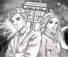 Dr Who Commission by CCDooMo