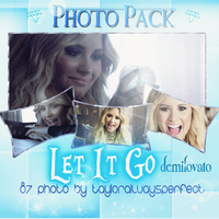 Let It Go Photopack by tayloralwaysperfect