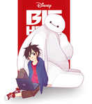 Big Hero 6 by BottleWonderland