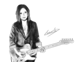 Yui Again cover painting by Law67