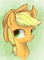 Applejack sketch by St-El