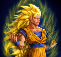 Goku SSJ3 by Chenks-R