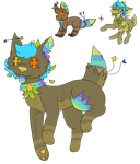 :R: This Dog Just Wants the Plants and Stars by FragileShedinja