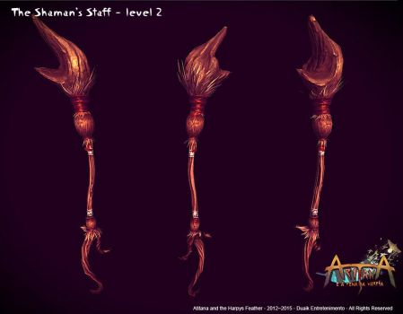 Aritana and the Harpys Feather - Props by raffael
