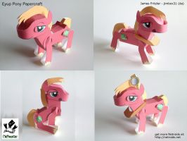 Eyup Pony Poseable Papercraft by jimbox31