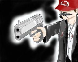 Gangster Mario by combototheoblivion