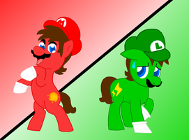 Super Pony Brothers by AceOfSpades95