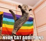NYAN CAT AUDITIONS by lover234567890