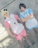 Ciel and Alois Wonderland by Reiko-Nagato