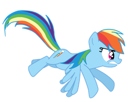 Sit there and do nothing Rainbow Dash Vector by Dan-Shattered-Heart