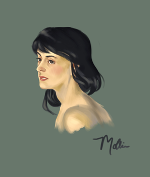Mollie Portrait by norree