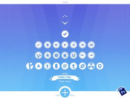 Circular Icons 2 - Free PSD by alpercakici