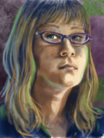 Self Portrait by Brainiac6Techgirl